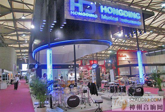 1上海国际专业音响灯光音响展览会昨日隆重举行快报