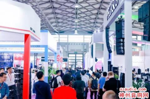 2019上海灯光音响展人流如织,迎来观展高峰!