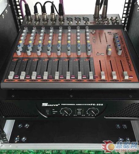 bk—10高级专业舞台喷漆音箱;pk—350高级专业后级功放机