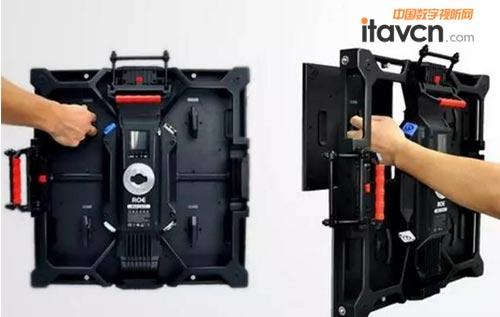 雷迪奥生产的led创意全彩显示屏已销往欧盟
